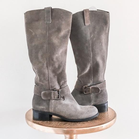 Arabella Suede Tall Riding Boots   Poshmark